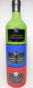 Sparkling Trio - Green Apple, Raspberry & Apple and Strawberry Vodka Stacker 20cls