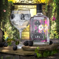 Blissful Bramble and Saffron Gin