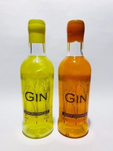 Shimmering Duo - Lemon Drizzle and Juicy Orange Gin 50cls