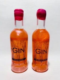 Shimmering Duo - Peardrop and Bubblegum Gin 50cls