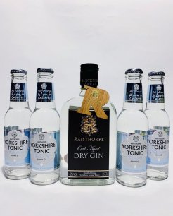Yorkshire G&T Pack - Oak Aged Gin and Skinny Tonic