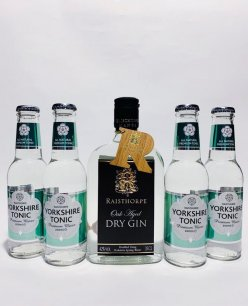 Yorkshire G&T Pack - Oak Aged Gin and Apple & Elderflower Tonics