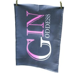 Gin Goddess' Tea Towel