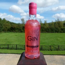 Shimmering Bubble Gum Gin 50cl