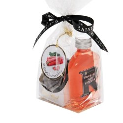 Rhubarb Gin Liqueur 5cl and Chocolates