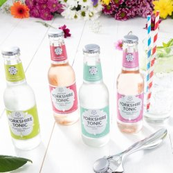 Set of 24 - flavoured Yorkshire Tonics only - No Premium or Skinny