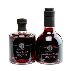Stackers Port Combo - 1x 20cl Sloe Port & 1x 20cl Damson Port - Award Winning Great Combo