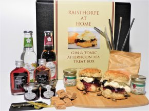 **New**Raisthorpe at Home - G & T Afternoon Tea Treat Box for two