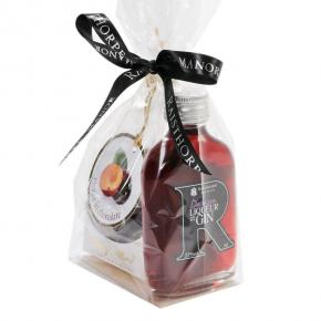 Damson Gin Liqueur 5cl and Plums in Chocolate