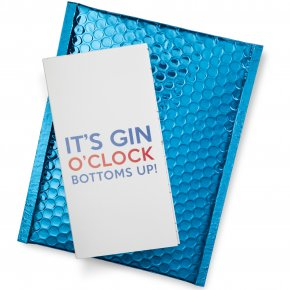 It's Gin O' Clock - Bottoms Up!