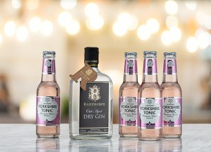 Yorkshire G&T Pack - Oak Aged Gin and Pink Grapefruit Tonics