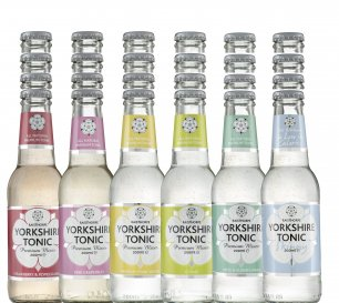 Set of 24 x 200ml Yorkshire Tonics - All flavours - Great for parties