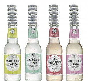 Set of 24x 200ml - flavoured Yorkshire Tonics only - No Premium or Skinny
