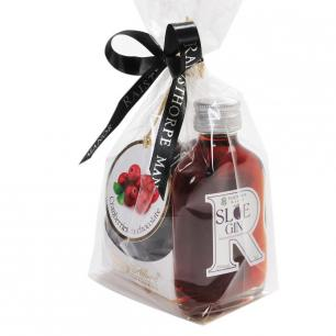 Sloe Gin Liqueur and Chocolates