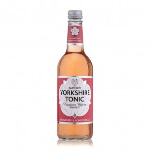 Strawberry & Pomegranate Yorkshire Tonic 500ml