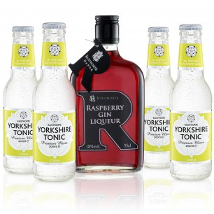 Yorkshire G&T Pack - Raspberry Gin and Citrus Tonic