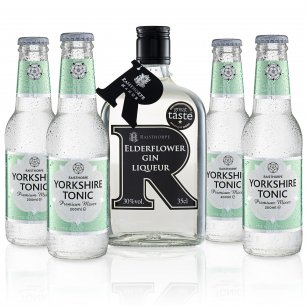 Yorkshire G&T Pack - Elderflower Gin and Apple & Elderflower Tonic