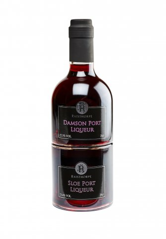 Port Combo - Award winning Sloe Port and Damson Port 20cl Bottles
