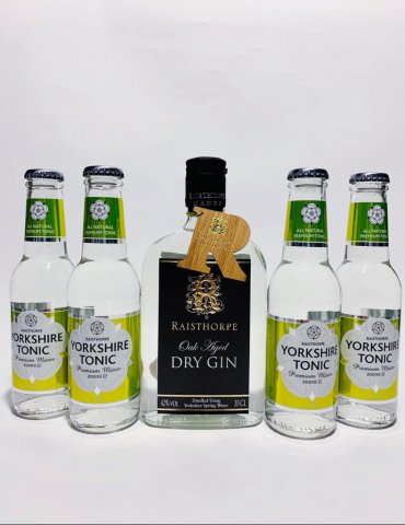 Yorkshire G&T Pack - Oak Aged Gin and Citrus Tonics