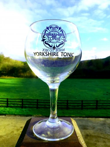 Yorkshire Tonic Gin Glass