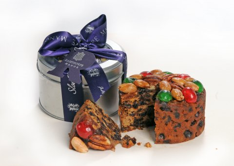 Sloe Port Fruit Cake 420g