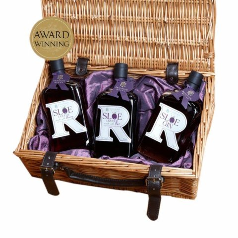 Platinum Collection 70cl Hamper : 70cl Sloe Gin , 70cl Sloe Port , 70cl Damson Port