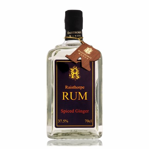 Spiced Ginger Rum 70cl : A spiced Rum with warming tones from the Ginger a wonderful winter warmer