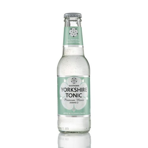 Apple & Elderflower Yorkshire Tonic 200ml and 500ml: 1- Apple & Elderflower 500ml