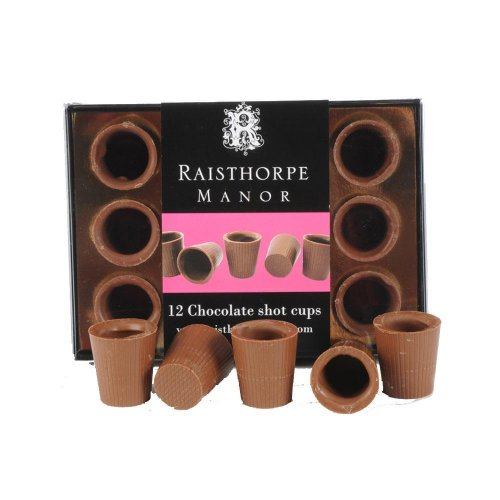 Milk Chocolate Shot Cups 12 Pack