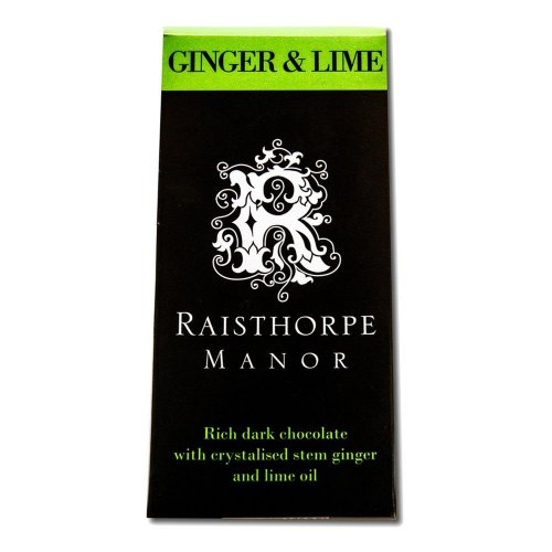 Ginger & Lime Chocolate Bar