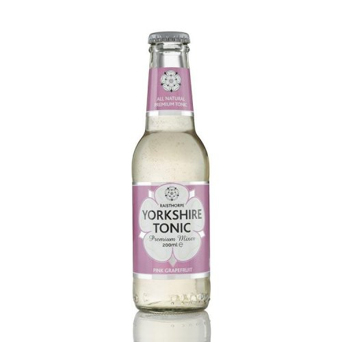 Pink Grapefruit Yorkshire Tonic 200ml: 6 - Pink Grapefruit 200ml