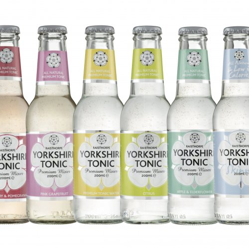 Set of 6 bottles of Yorkshire Tonics - One of each flavour - 200ml: Set of 6 - 1 of each flavour