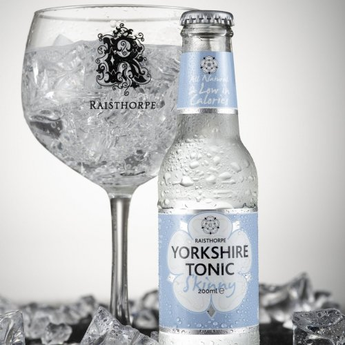 Special Offer - Skinny Premium Yorkshire Tonic Water 200ml nearly out of date: 24 - Skinny Tonics