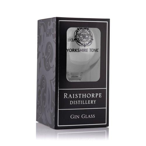 Yorkshire Tonic Gin Balloon Glass: Single Glass in a presentation box